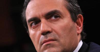 05/02/2013 Roma, trasmissione Ballarò. nella foto Luigi De Magistris,  sindaco di Napoli