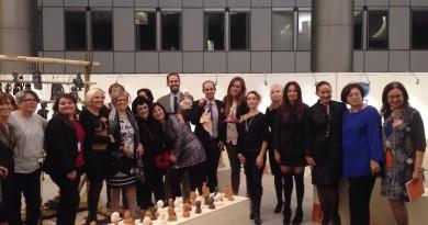 Bruxelles, al Parlamento Europeo la collettiva di Pandora Artiste