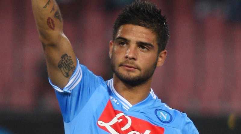 NAPLES, ITALY - JULY 29:  Lorenzo Insigne of SSC Napoli gestures during the preseason friendly match between SSC Napoli and Bayer Leverkusen at Stadio San Paolo on July 29, 2012 in Naples, Italy.  (Photo by Paolo Bruno/Getty Images)