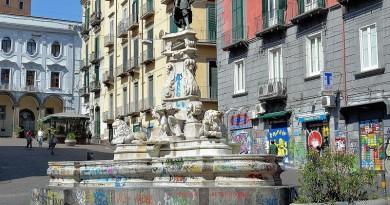 005 - Fountain Monteoliveto, Napoli