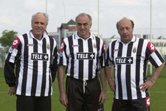 La triade degli anni di calciopoli