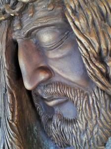 Volto di Cristo - particolare - di Ignazio Colagrossi