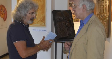 l'autore Ignazio Colagrossi con il Prof. Rosario Pinto