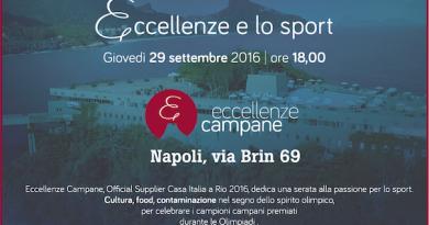 Eccellenze Campane celebra gli atleti olimpici