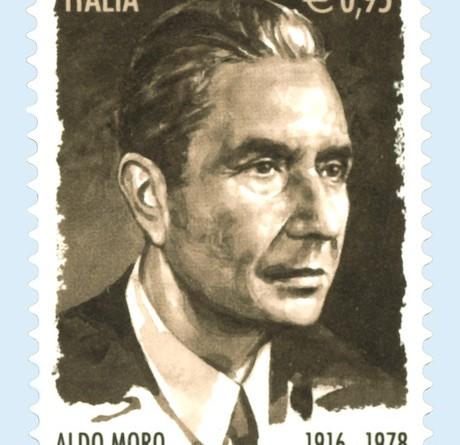 Francobollo Aldo Moro