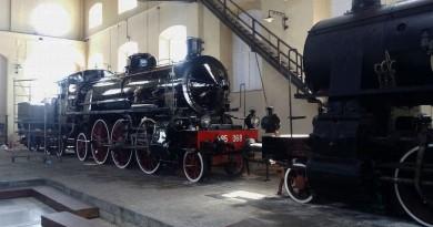locomotiva 685.069 fine lavori di restauro