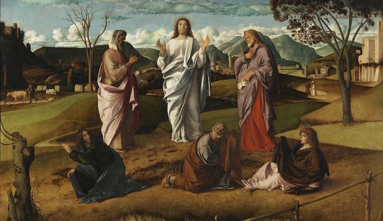Museo Nazionale di Capodimonte, Napoli Giovanni Bellini Trasfigurazione 1478-1479 ca