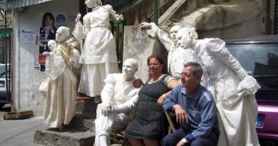 Arte tra la gente a Ercolano