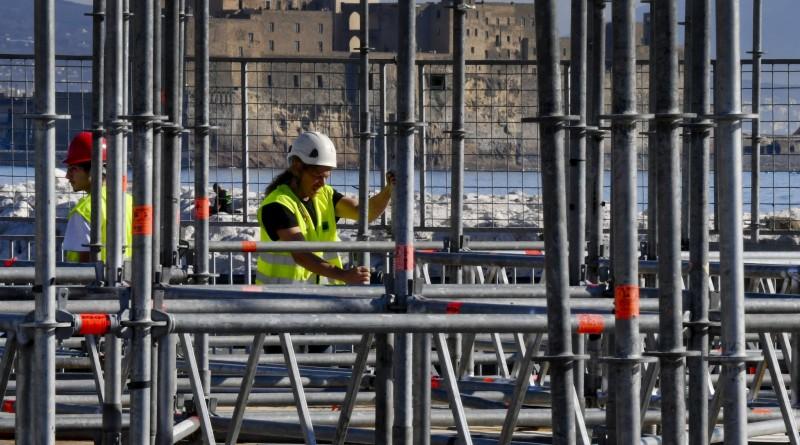 Su lungomare Napoli al via costruzione