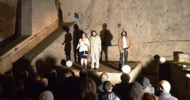 Il Demiurgo alla Galleria Borbonica