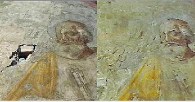 Prima e dopo il restauro
