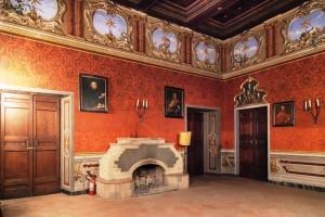 Le stanze del Castello scenario dello spettacolo