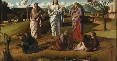 Giovanni Bellini - La trasfigurazione