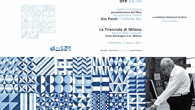 Invito x Gio Ponti L'infinito Blu