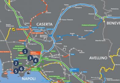 Sbloccati i finanziamenti, dopo anni riaprono in Campania i cantieri del trasporto EAV