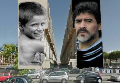 Sorgerà a San Giovanni a Teduccio il grande murales di Diego Maradona