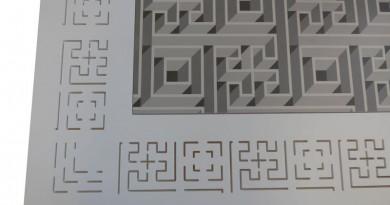 1.Tavolo Antica-Mente dettaglio piano Sorelle Francescon Refin
