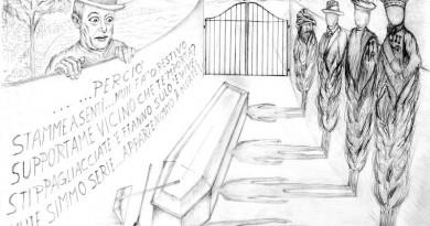 bozzetto x scultura bronzea - Totò e la Sua Livella - 2016 - ignazio colagrossi