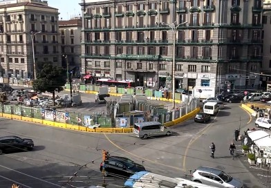 Viabilità, si cambia! Nuovo dispositivo di circolazione in piazza Garibaldi