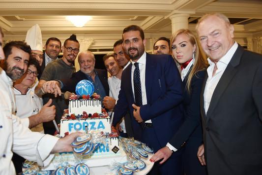 Cena di fine stagione per il Napoli: