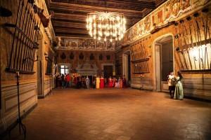 Il fascino della narrazione teatrale al Castello Lancellotti