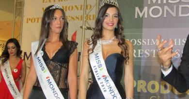 Miss Mondo campania con Miss Mondo 2016