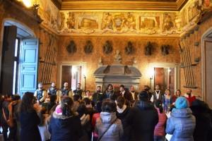 Pubblico al Castello Lancellotti