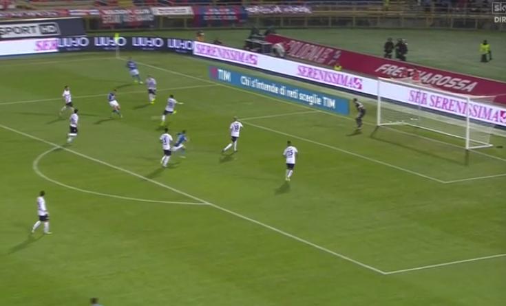 GOL D'AUTORE - Mertens scippa la palla e firma il raddoppio del Napoli