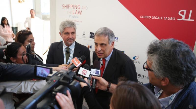 Mario Mattioli e Francesco Lauro