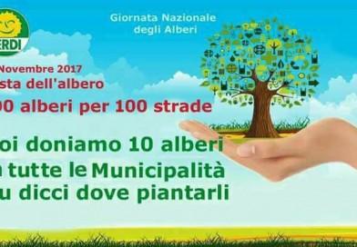 I Verdi regalano cento alberi a Napoli. Domani al via la piantumazione