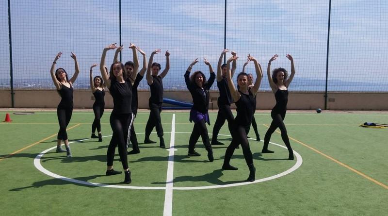 Liceo coreutico e campo da calcio