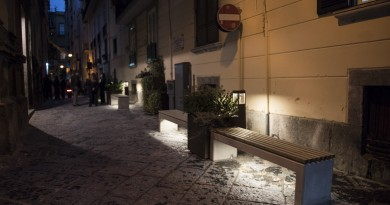 """""""Free WiFi zone"""" nelle strade adiacenti alla Cappella Sansevero"""