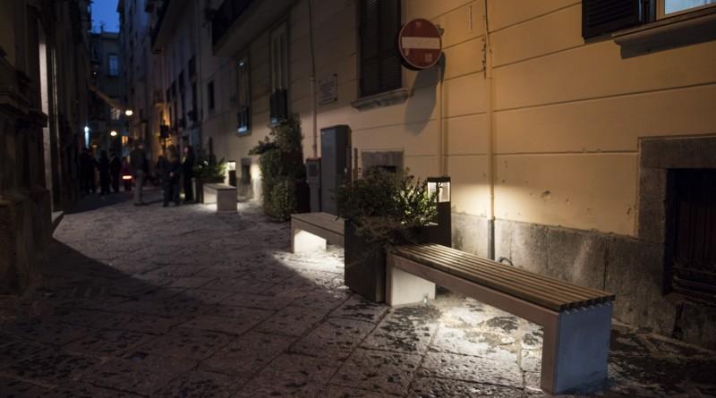 VIA F DE SANCTIS_notte_INAUGURAZIONE ADOTTA UNA STRADA 6_12_16