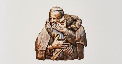 San Giovanni Paolo II di Ignazio Colagrossi - Collezione Sgarbi
