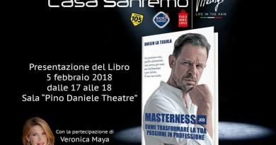 MASTERNESS 5 FEBBRAIO CASA SANREMO