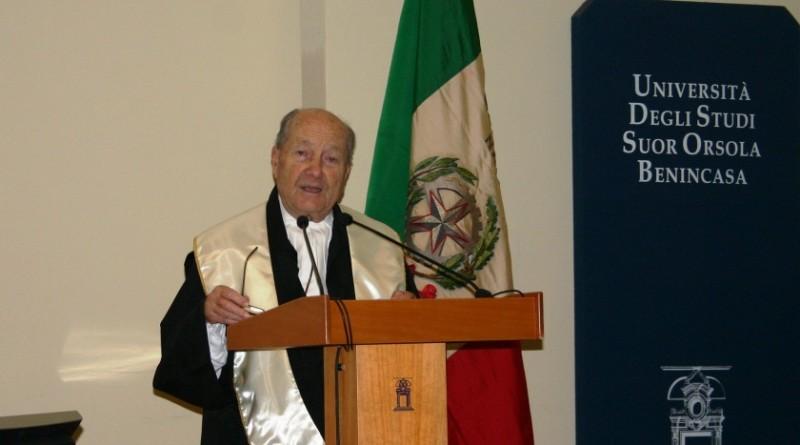 Il presidente emerito della Corte Costiutuzionale Paolo Grossi