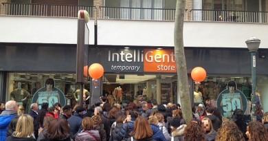 Vomero, 15 marzo 2018 aperura IntelliGent store in via Luca Giordano