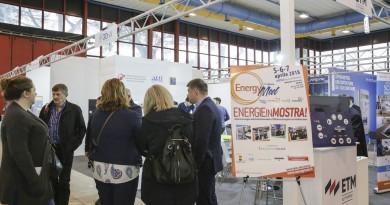 Napoli, 5 Aprile 2018 - Un momento dell'11° Edizione di EnergyMed,  Mostra convegno sulle Fonti innovabili e l'Efficienza Energetica nel Mediterraneo. Roberta Basile KontroLab