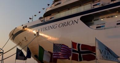 """Fincantieri, consegnata ad Ancona """"Viking Orion"""""""