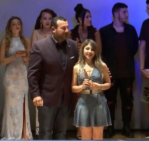 Enrica La Femina consegna 2 premio..