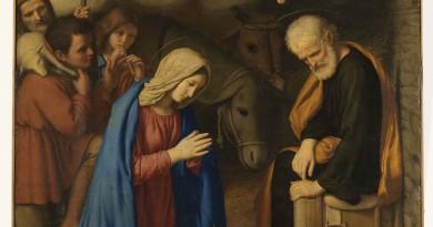 Napoli, Museo di Capodimonte Giovanni Battista Salvi (Sassoferrato) (1605/ 1685) Adorazione dei pastori olio su tela, cm 134 × 99 Indicazione generica sec. XVII Museo di Capodimonte, Napoli