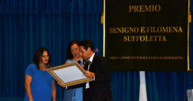 Al via il XXV Premio Benigno e Filomena Stuffoletta