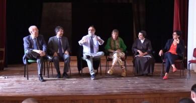 @scuolasenzabulli ad Airola con Domenico Falco e Sanuele Ciambriello