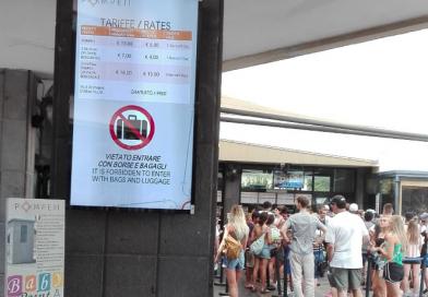 Pompei, 13 nuovi monitor per le informazioni ai turisti in visita agli scavi