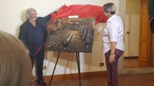 Scopertura Scultura Toto ... 'A Livella Ignazio Elena de Curtis 2
