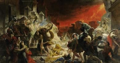 Pompei, sui social network l'eruzione del 79 dc