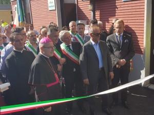 Cerimonia Riapertura stazione Santa Croce del Sannio