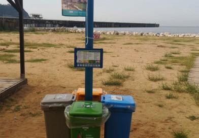 Differenziata sulle spiagge cittadine, al via la sperimentazione della raccolta