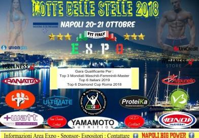 Napoli per un giorno capitale del Bodybuilding