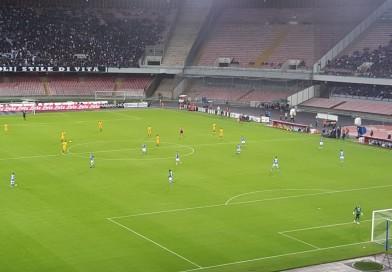 Mertens evita la beffa al 90′ ma il Napoli sciupa troppe occasioni da rete